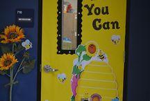 Classroom door display