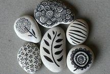 verven en stenen schilderen