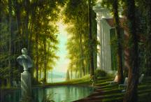 Felix Kelly (1914-1994) / Painter