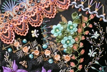 Crazy Quilting by Jo Newsham in NZ / by Taarna T