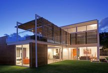 Timber Glass Metal Pergola