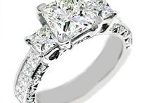 Wedding Rings Honor & Obey / The symbol of love eternal, the never-ending circular ring of precious metal adorned by jewels