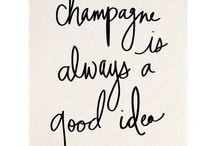 Champagne & Wine❤