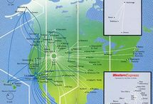 Airline Route Maps