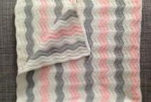 patrones mantas crochet