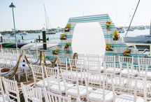 Bermuda Themed Wedding / Coordinated by Lindsay of LVL Weddings and Events (www.lvlevents.com) // Photography: Sargeant Creative // Venue: Balboa Yacht Club // Florals: Shannon G's Flowers / by LVL Weddings