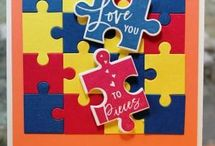 Stampin Up Puzzlestanze