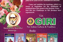 SRI KANCHI MAHA PERIYAVA JAYANTI / Celebrate SRI KANCHI MAHA PERIYAVAL JAYANTI with GIRI. Receive the bountiful blessings.