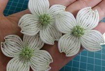 Nový quilling - kvety