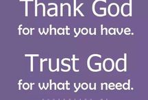 Trust in God  / by Ilia Feliciano