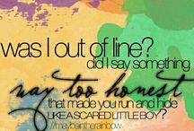 Taylor Swift Song Lyrics <3