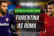 Prediksi Fiorentina vs AS Roma 05 November 2017