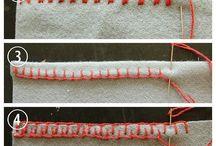 stick sewing
