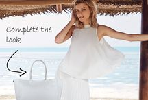 Handbags in Whites & Neutrals / These white and neutral flavours will give you a handbag that will match seamlessly with any outfit, and can be used for any season. Timeless elegance, beauty and chic styles will perfectly accessorise your style.