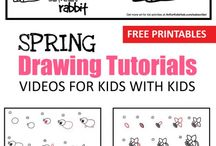 Kids drawing / Drawing, painting etc.