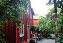 Home Yard / court, yard, courtyard, farmyard, patio, terrace, manour house, herrgård, trähus