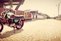 This is my bike .. / I like kustom!!