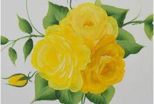painti g flowers tutorial