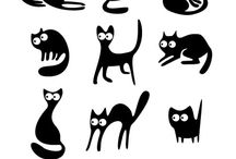 Cats - Art and Clip Art