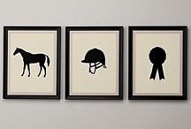 Horse room ideas
