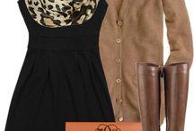 Fall Fashion  / Ensembles I Want to Wear in Fall 2013