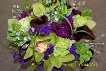 Sheena's shindig / A gorgeous purple and green wedding!! / by Stacy Burgess Blackbourn