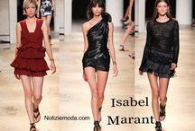 Isabel Marant / Isabel Marant collezione e catalogo primavera estate e autunno inverno abiti abbigliamento accessori scarpe borse sfilata donna.