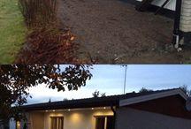 Projekt prästgårdsvägen / Ombyggnad