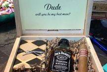 For the groom / Because it's his day too :)