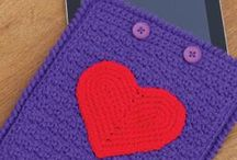 Crochet tablet pattern