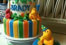 1. doğum günü pastaları