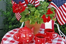 4th of July decor ideas / by Heather Rasmus