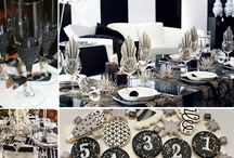 New Years Eve Party Ideas / New Years Eve styles and themes to help with inspiration for your event.