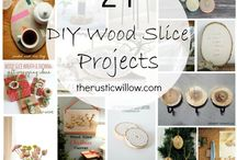 Wood slice ideas
