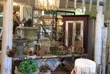 antique booth ideas / by Karen