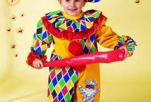 Costume di Carnevale: Arlecchino
