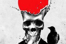Skull love❤️ / SKULLS❤️