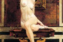 Painting. Robert McGinnis