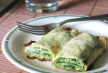 lasagna e crepes salate
