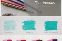 tecnicas colorear