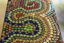 bottle cap deco / by Lynda Moore