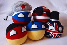 Countryballs / I've started working on new collection of plush toys inspired by the series of comics on the internet called countryballs. You will be able to order or purchase any country of the world. In the upcoming few days we will be placing few of the countryballs in the store.