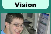 classroom adaptations for students with low vision
