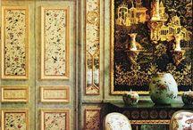Роспись мебели - chinoiserie