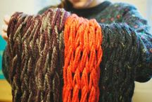 Scarves and knits