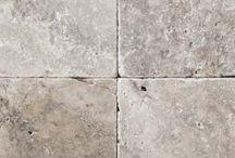 Tiles around hearth