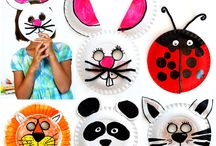 Paper Plate & Paper Roll Kids Crafts