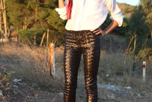 How to wear my sequined pants