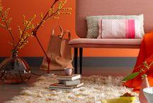 interieur 》oranje en terracotta