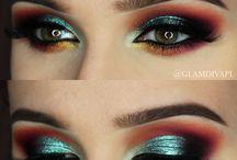 Make-up // halo eyes